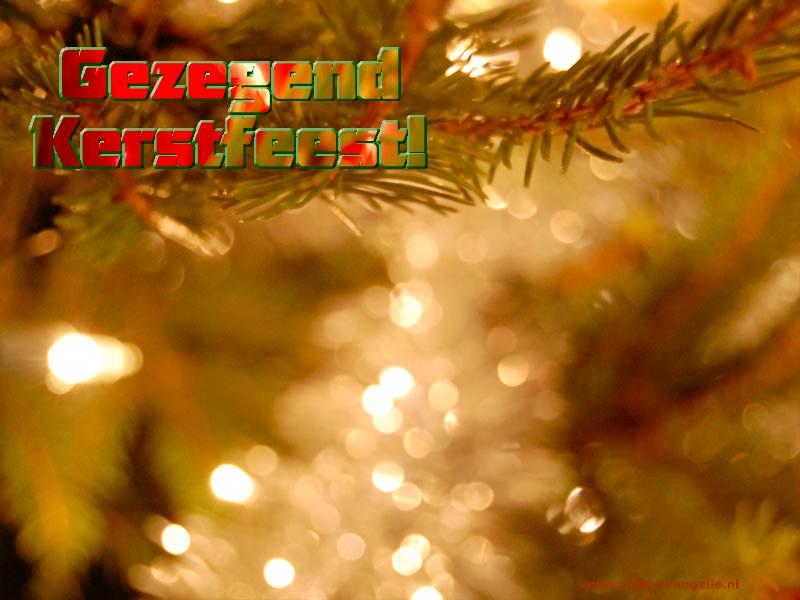 Gezegend Kerstfeest