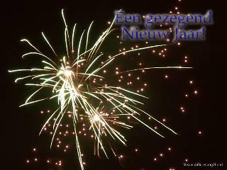 Gezegend nieuw jaar