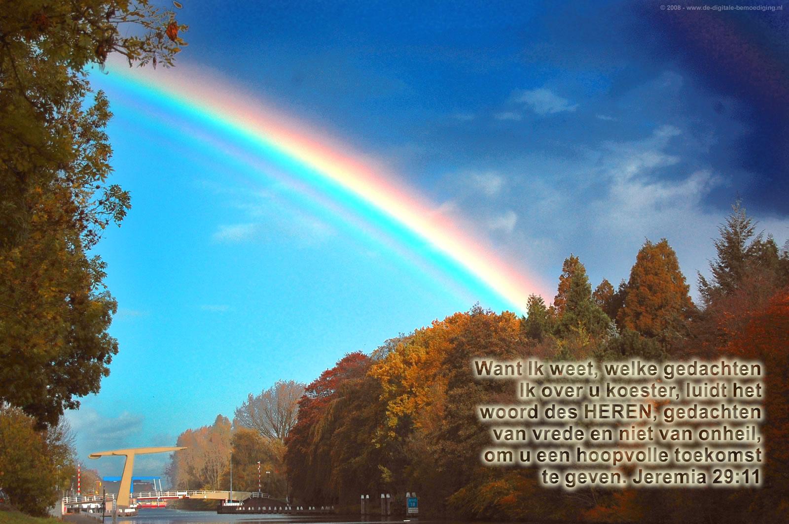 Boventallige regenboog
