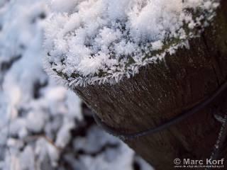 Sneeuw - rijp