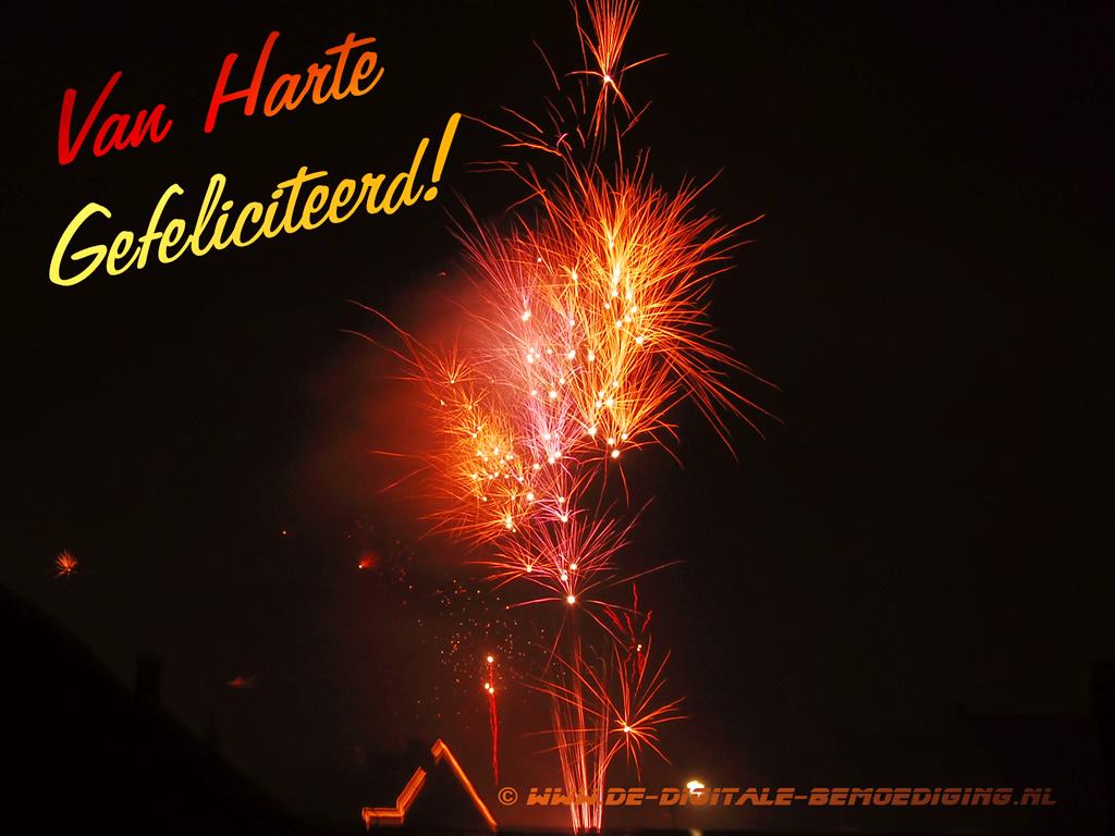 Van Harte Gefeliciteerd Vuurwerk