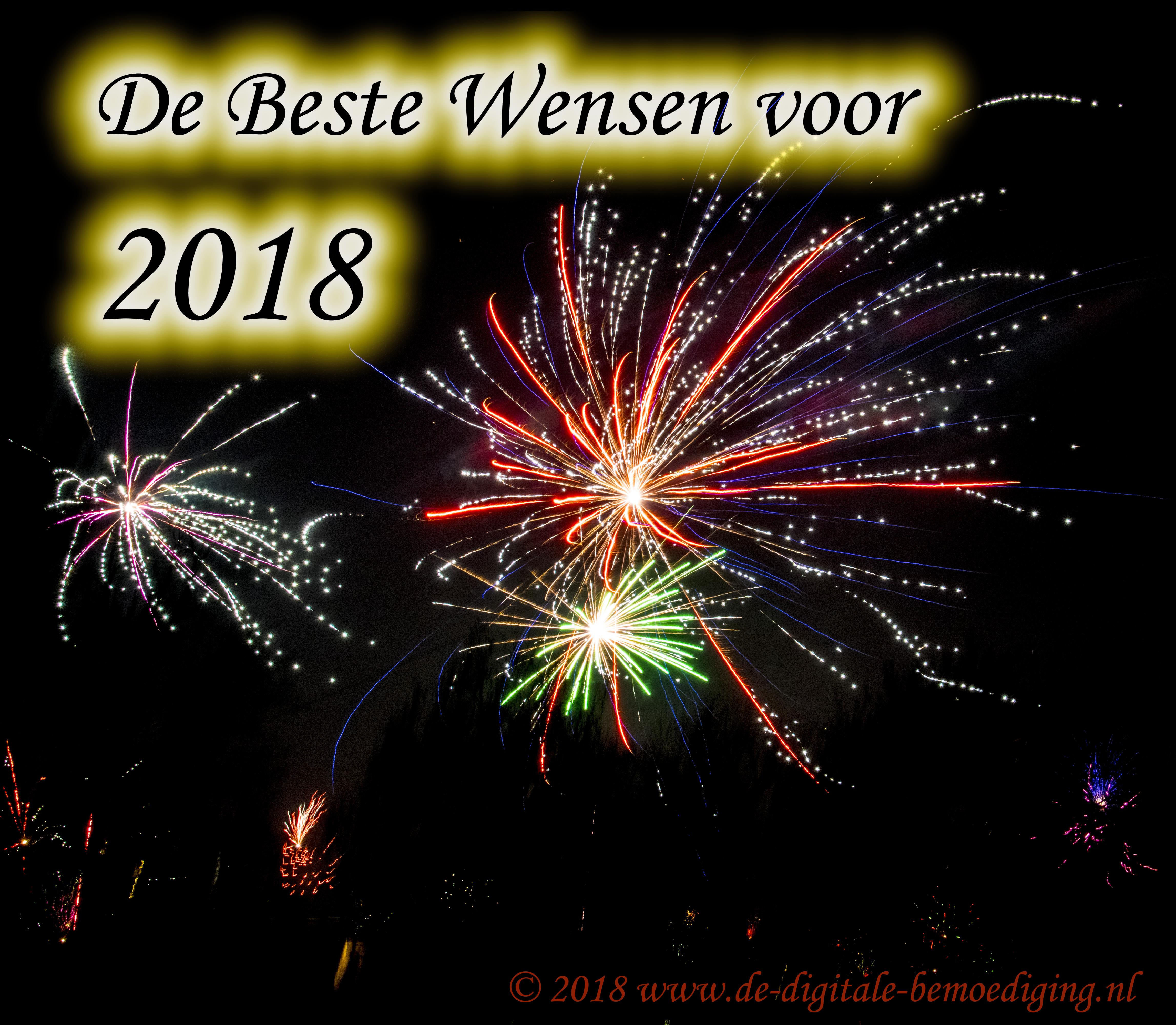 De Beste Wensen 2018!