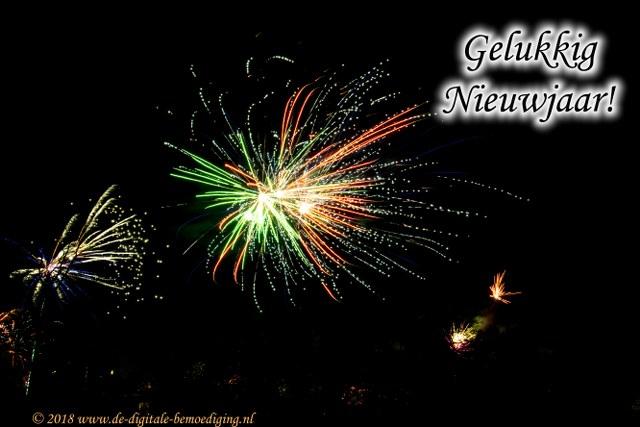Gelukkig Nieuwjaar                         - 431