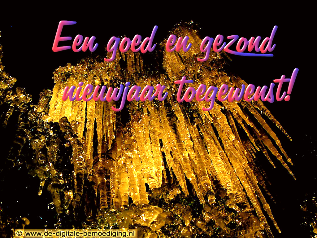 Ecard goed en gezond nieuwjaar - Jaar wallpapers ...